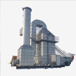 جهاز تحرير إلكتروستاتيكي (ESP لنظام تنظيف الغاز الصناعي للنفايات)