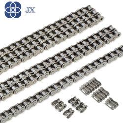 /Acero Inoxidable acero al carbono de cadenas de rodillos de cinta transportadora Industrial (08B 12B 16B 40 50 60 80).
