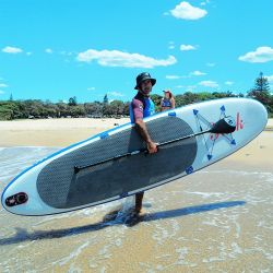 Groothandel Fabrikant Custom Double Layer Supboard paddle Board Opblaasbaar paddleboard