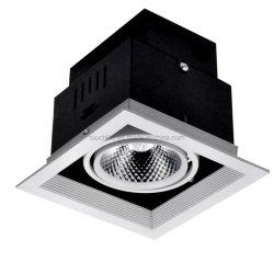 Cer, RoHS, Punkt-Licht der SAA Qualitäts-Wohn-LED Downlight des Gitter-LED (TGH90-1*20W)