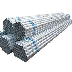 El material P195/P235/P345 la norma ASTM A53/JIS/en/GB/BS 4 pulgadas de los REG/Soldado/Seamless/cuadrado o rectangular/rhs/SHS/Ronda//Pre-Galvanized Galvanizado en caliente del tubo de acero