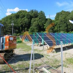 Projet de structure de fixation de masse solaire
