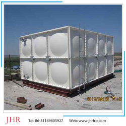 De SMC Gedrukte het Assembleren FRP Tank van de Opslag van het Water 20000 Liter