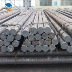 En acier au carbone laminés à chaud S45c alliage 1045 la moitié de la barre ronde en acier solide