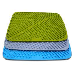 Super размер силиконового герметика блюдо сушки коврик большой Drainer коврик