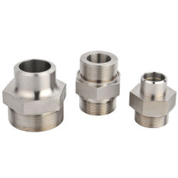 Adaptateur de flexible en métal de la machine CNC