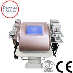 6 в 1 кавитация лазер Lipo красота лица вакуумного устройства RF органа похудение машины