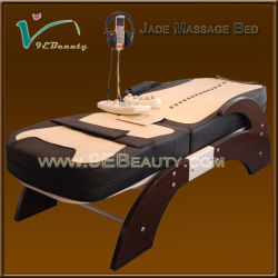 Высокое качество тепловой Jade массаж кровать с портативным Jade обработанных массажер (EB-JT04FM)