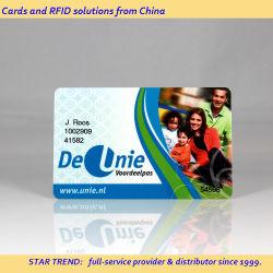 Impresión en Color 4 tarjeta de plástico para publicidad
