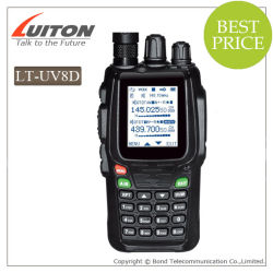 Wouxun Kg-UV Kguv8d8d de doble banda de larga distancia de 5W Walkie Talkie