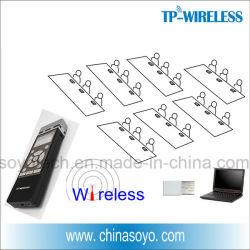 Presentatore a distanza senza fili con l'indicatore del laser (supporto PPT)
