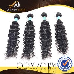 Fornecedor Encaracolado Virgem estilo Afro Tecelagem Extensões de cabelo