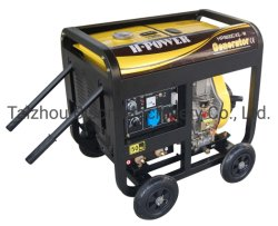 Saldatrice per generatore diesel Bison 186f 8,2AMP 5kVA