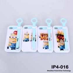 M'méprisables larbins TPU de fantaisie de la série de cas de téléphone mobile pour iPhone 4/ 5, parfait cas TPU souple pour iPhone4-016 4/5 (IP)