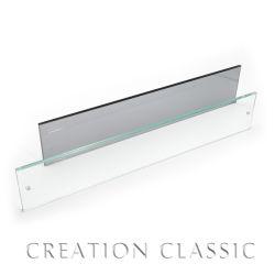 6''x24''rectangle четких закаленное стекло полки
