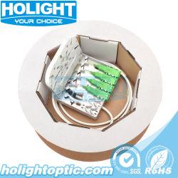 Plaque frontale 4 ports à fibre optique avec un SC/APC Adaptateur et câble Preterminated