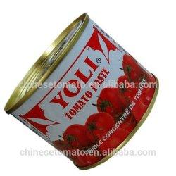 La pâte de tomate de haute qualité avec diverses spécifications et bon prix
