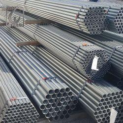 Galvanisiert ringsum Rohr-Stahlprodukte galvanisierte Stahlrohr auf Aufbau