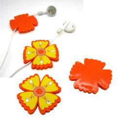 Heiße verkaufenzubehör der Blumen-3D für Kopfhörer