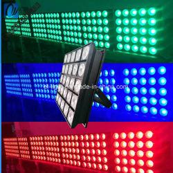 5*5 25 головки блока цилиндров 10W/12W/15W/30W Quad LED Matrix промойте Блиндер лампа дальнего света