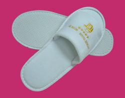 Zapatillas desechables para habitación de hotel con el tipo de algodón con Terry