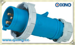 IP67 Waterproof Industrial Plug per CE Certification (QX278)