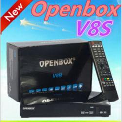 2018元のV8s HD衛星TVの受信機サポートYoutube 3G USB WiFiのデコーダーのOpenbox V8sの高品質のセットトップボックスのWiFiスマートなTVボックス