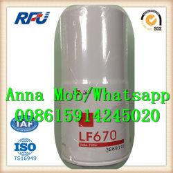 Lf670 pour Fleetguard de filtre à huile moteur Cummins