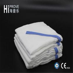 Use medico Absorbent Gauze Lap Sponge con Blue Loop