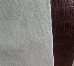 PU imitação de pele de cobra com tecidos de backup