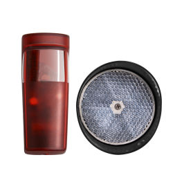 Reflector impermeável Sensor fotoeléctrico sem fios por infravermelhos Detector fotocelula para Slding porta da tampa