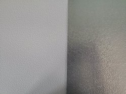 لوح ورق من الألومنيوم منقوش باللون الأبيض مع إمداد المصنع بالمصنع