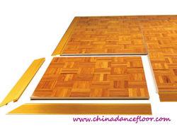 Plancher de danse en bois portable bon marché pour DJ Hall
