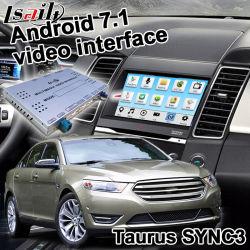 Lsailt Ford Taurus同期信号3ソニーシステムWaze Yandexミラーリンク任意選択Carplayのための人間の特徴をもつGPSの航法システム