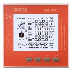 PAC3000 LCD-Leistungsmesser mit intelligentem Panel