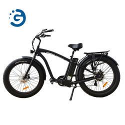 """26 """" *4.0後部駆動機構モーター電気自転車750Wの脂肪質のタイヤのハンマーのEバイク"""