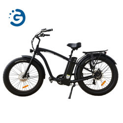 26*4.0 Motor de tracción trasera bicicleta eléctrica de 750W de neumáticos de la Grasa de Hummer, E-Bike