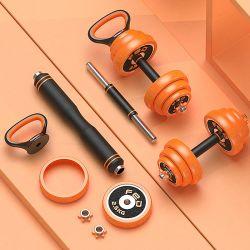 Usine Vente directe accueil salle de gym du matériel de fitness d'haltères chargeables personnaliser haltères Set haltère réglable