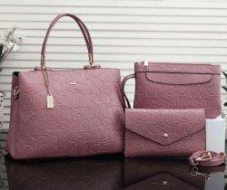 Новые сумки через плечо роскошный кожаный 3 в 1 дамы моды Vintage дамской сумочке