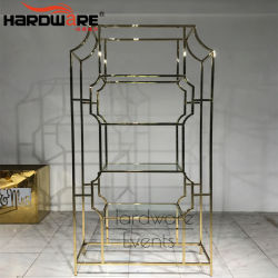 Vino di vetro della visualizzazione della barra del blocco per grafici dell'acciaio inossidabile del supporto di vendita calda da vendere