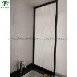 Foshan fabricante OEM de banho em vidro preto da estrutura para duche de Grade