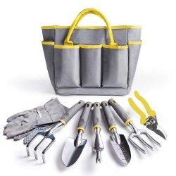 مجموعة أدوات الحديقة - 8 قطع للخدمة الشاقة في الحديقة مجموعة الأدوات