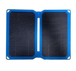 折りたたみ式ポータブルソーラーパネル、 10W 14W 21W ソーラーパワーチャージャ USB 出力充電器