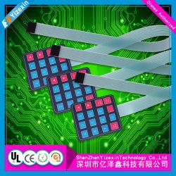 Горячие! Китай поставщиком ПЭТ/FPC на ощупь кнопки клавиатуры мембранного переключателя