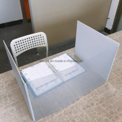 مكتب عمليّة عزل لوح, [فولدبل] شفّافة بلاستيكيّة مكتب عمليّة عزل لوح لأنّ مدرسة طالب, مكتب مدرسة [رسترنت] [أنتي-فيروس] أكريليكيّ شفّافة واقية