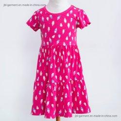 فستان قصير الأمد للفتيات ملابس الأطفال
