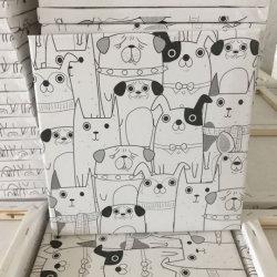 Afgedrukt Honden Uitgerekt die Canvas in China wordt gemaakt