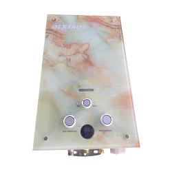 Custom Baixa Pressão da Água a Partir aço inoxidável gás instantânea de água quente a gás do aquecedor Geyser