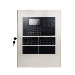 Sistema de alarme de incêndio endereçáveis inteligentes com o painel de controle de alarme de incêndio para o sistema de alarme