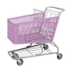 Populares 210L Carrinho de Compras de supermercado de plástico com Assento do bebé